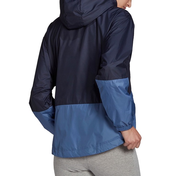 アディダス レディース アウター ジャケット ブルゾン モデル着用&注目アイテム Dark Blue Jacket 全商品無料サイズ交換 セール開催中最短即日発送 Women's Windbreaker Essentials