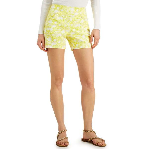 アイエヌシーインターナショナルコンセプト レディース ボトムス カジュアルパンツ Willow Ditsy 安心と信頼 全商品無料サイズ交換 お買い得品 INC for Pull-On Shorts Career Created Macy's Printed