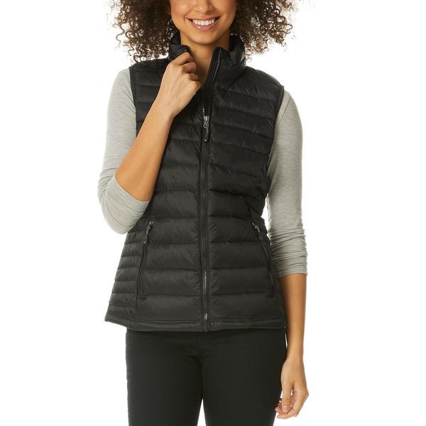 32ディグリー レディース アウター コート Black 推奨 全商品無料サイズ交換 Packable Vest Created Puffer NEW売り切れる前に☆ Down for Macy's