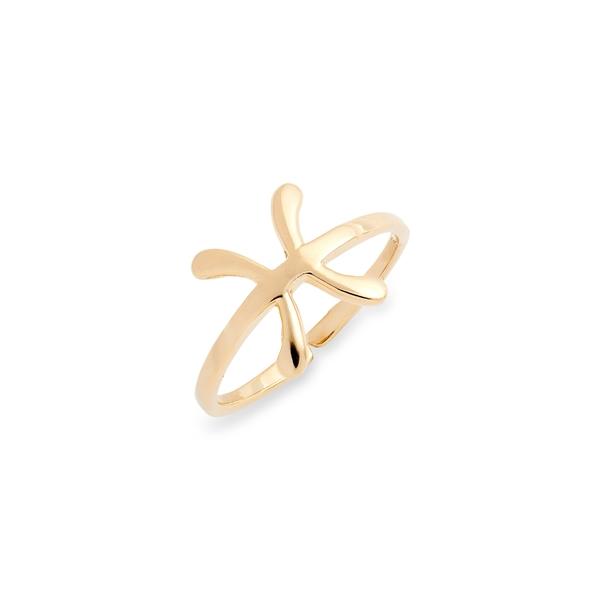 スターリングフォーエバー レディース リング アクセサリー Zodiac Ring Gold Pisces