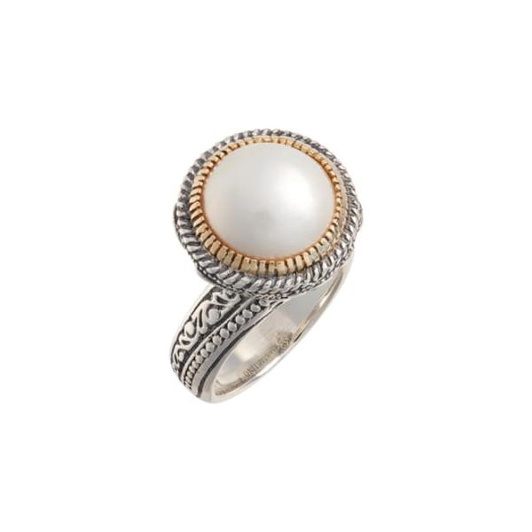 コンスタンティーノ レディース リング アクセサリー Thalia Pearl Ring Silver/ Pearl