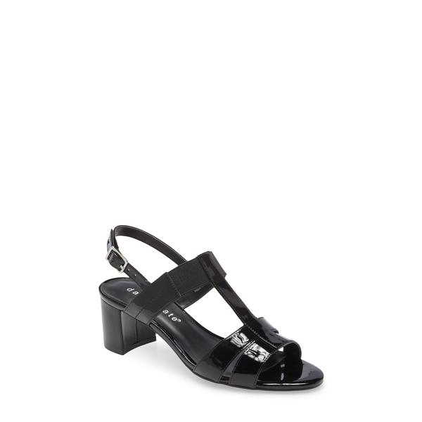 ダイビッドテイト レディース サンダル シューズ Secret Slingback Sandal Black Patent Leather