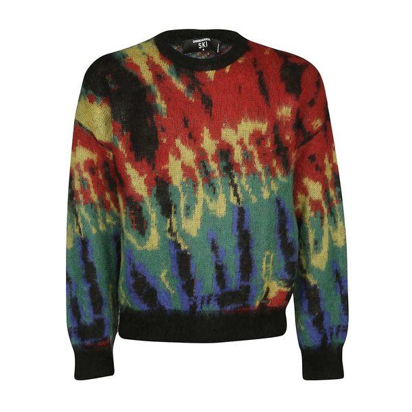 ディースクエアード メンズ ニット&セーター アウター Dsquared2 Printed Knitwear -