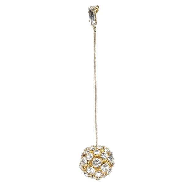 アレクサンドル・ボーティエ レディース ピアス&イヤリング アクセサリー Alexandre Vauthier Crystal Embellished Earring -