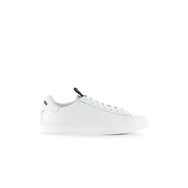 ディースクエアード メンズ スニーカー シューズ Dsquared2 Evolution Tape White Black Sneaker -