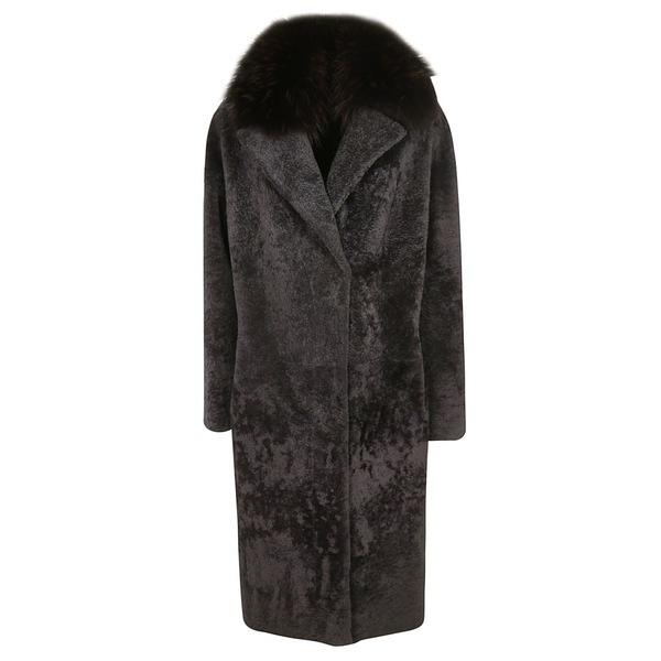ソード6.6.44 レディース ジャケット&ブルゾン アウター S.W.O.R.D 6.6.44 Fur Collar Coat -