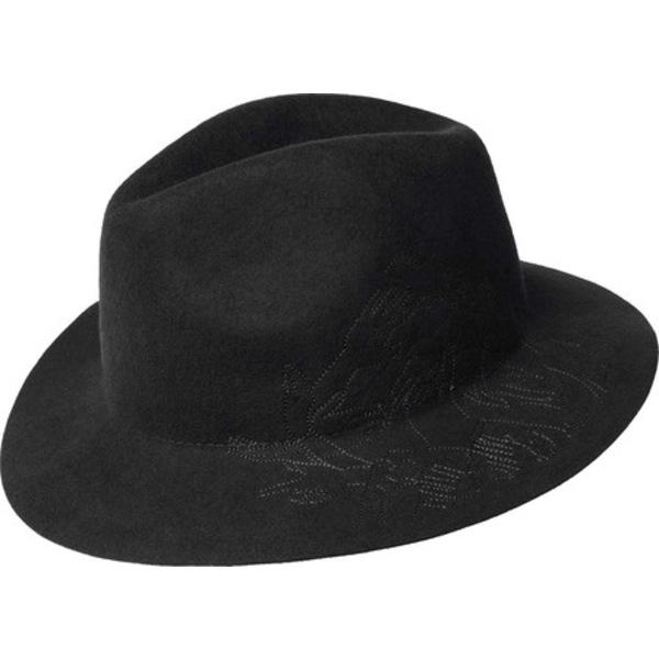 カンゴール メンズ アクセサリー 帽子 デポー Black 全商品無料サイズ交換 新作製品、世界最高品質人気! Fedora Trilby Barclay Telephone Felt