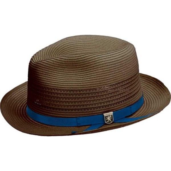 ステイシーアダムス メンズ アクセサリー ギフ_包装 帽子 期間限定今なら送料無料 Brown Men's 全商品無料サイズ交換 SA644 Fedora