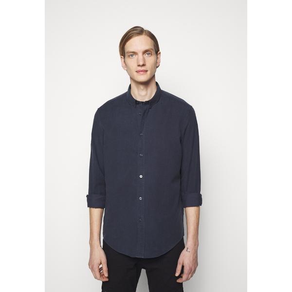 ドライコーン メンズ トップス シャツ dark blue Shirt LOKEN 全商品オープニング価格 jtop0131 - 情熱セール 全商品無料サイズ交換