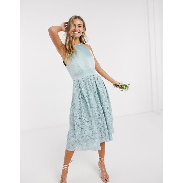 オアシス レディース トップス ワンピース Mint 全商品無料サイズ交換 Oasis 新作通販 lace in skater bridesmaid おすすめ特集 mint dress