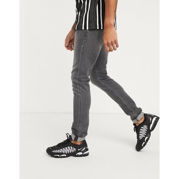 ラングラー メンズ デニムパンツ ボトムス Wrangler Bryson skinny jeans in gray Gray