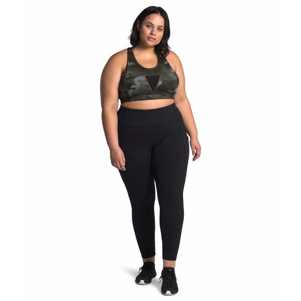 ノースフェイス レディース カジュアルパンツ ボトムス Plus Size Motivation Pocket 7/8 Tights TNF Black