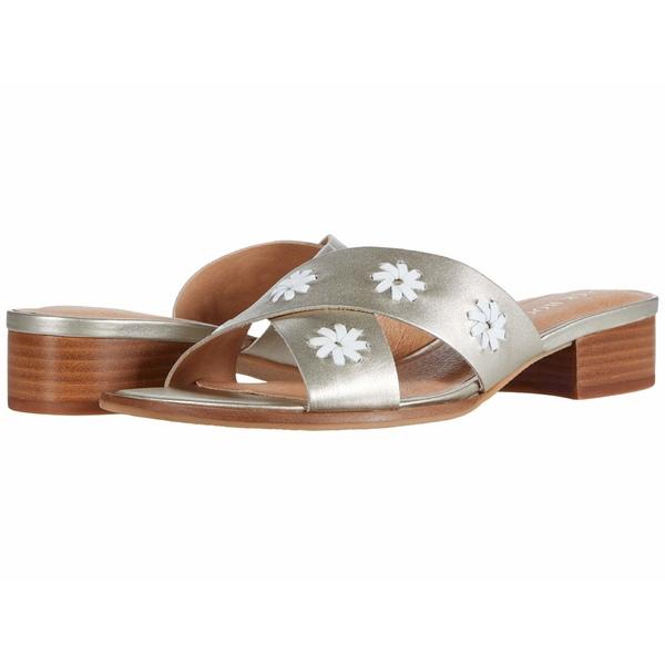 ジャックロジャース レディース ヒール シューズ Rondelle City Sandal Platinum