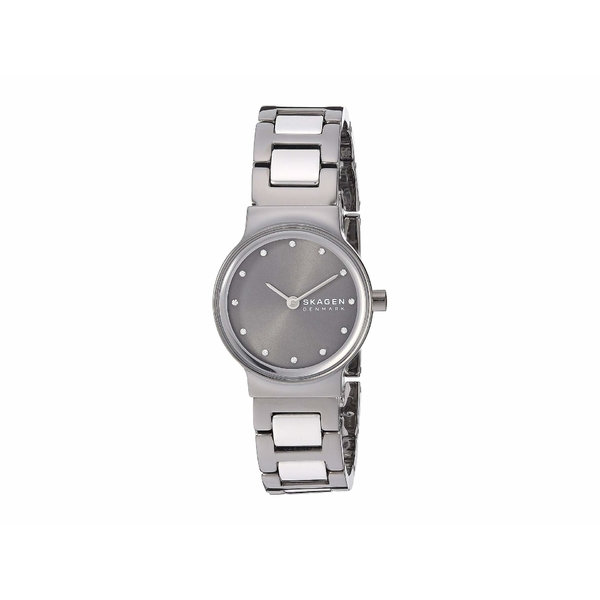 スカーゲン レディース 腕時計 アクセサリー Freja Two-Hand Watch SKW2831 Gunmetal Silver Stainless Steel
