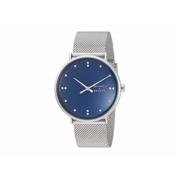 スカーゲン レディース 腕時計 アクセサリー Finn Juhl Two-Hand Watch SKW6584 Silver Stainless Steel Mesh