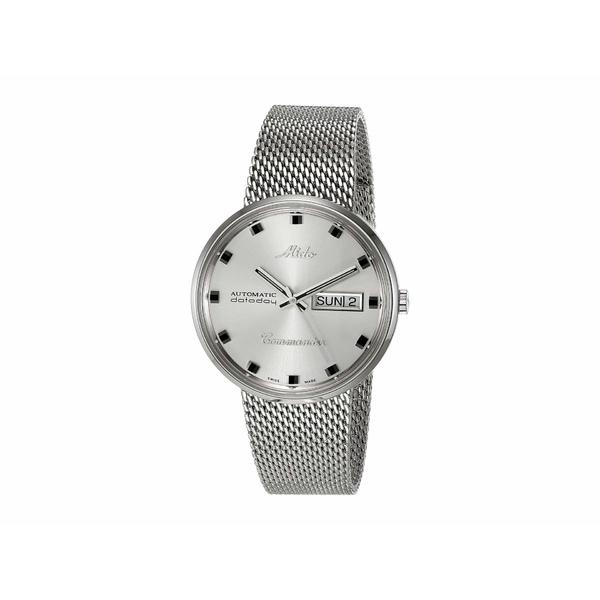 ミド メンズ 腕時計 アクセサリー Commander Steel Milanese Bracelet - M842942113 Silver
