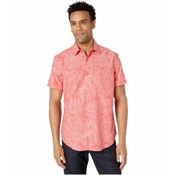 ロバートグラハム メンズ シャツ トップス Andretti Button-Up Shirt Coral