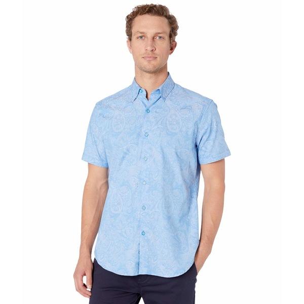 ロバートグラハム メンズ シャツ トップス Andretti Button-Up Shirt Light Blue