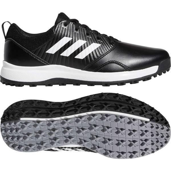 アディダス メンズ ゴルフ スポーツ adidas Men's CP Traxion SL Golf Shoes Black/White