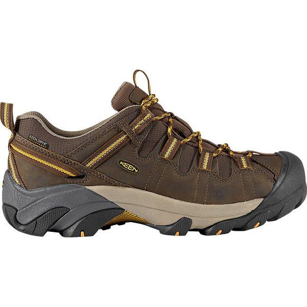 キーン メンズ ブーツ&レインブーツ シューズ KEEN Men's Targhee II Waterproof Hiking Shoes CascadeBrown
