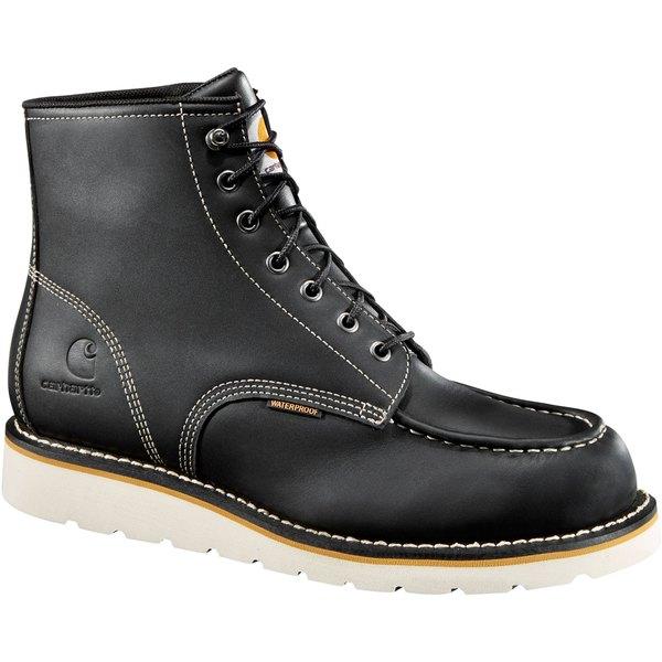 カーハート メンズ ブーツ&レインブーツ シューズ Carhartt Men's Wedge 6'' Waterproof Soft Toe Work Boots Black