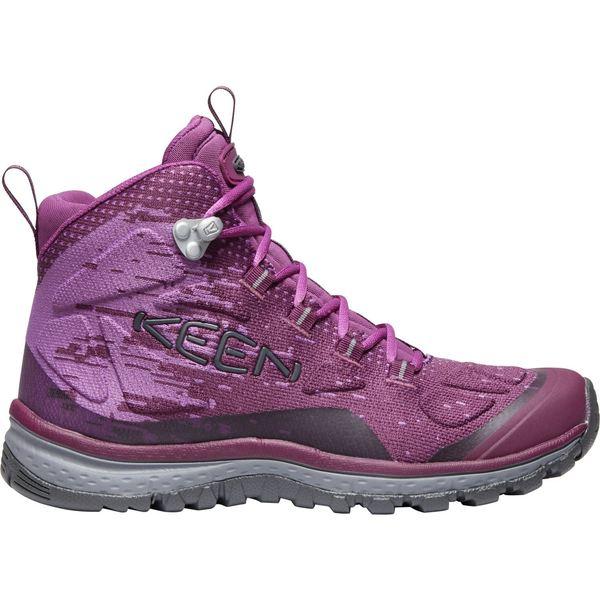 キーン レディース ブーツ&レインブーツ シューズ KEEN Women's Terradora EVO Mid Hiking Boots GrapeWine