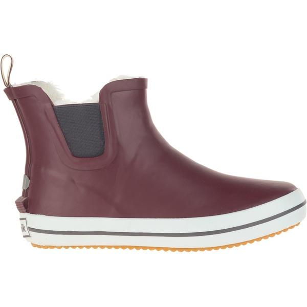 カミック レディース ブーツ&レインブーツ シューズ Kamik Women's ShellyLo Rain Boots Burgundy