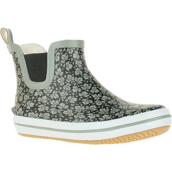 カミック レディース ブーツ&レインブーツ シューズ Kamik Women's ShellyLo Rain Boots BlackWhite