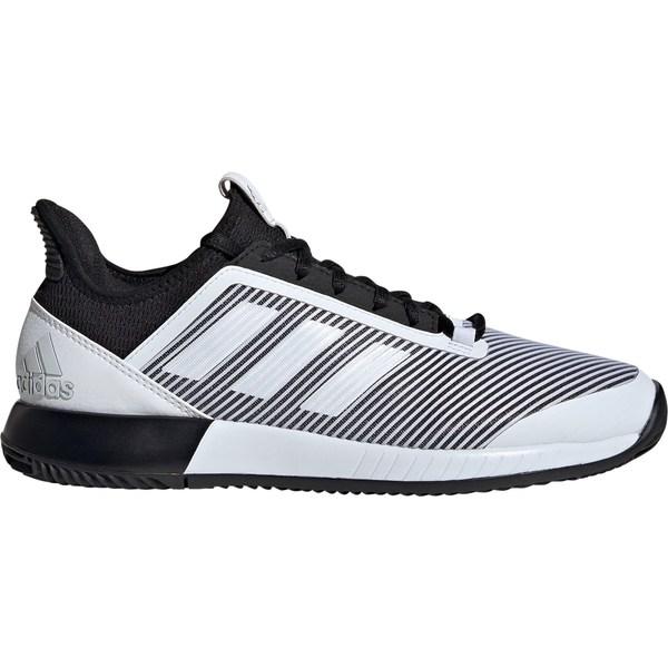 アディダス レディース テニス スポーツ adidas Women's Defiant Bounce 2 Tennis Shoes Black/White