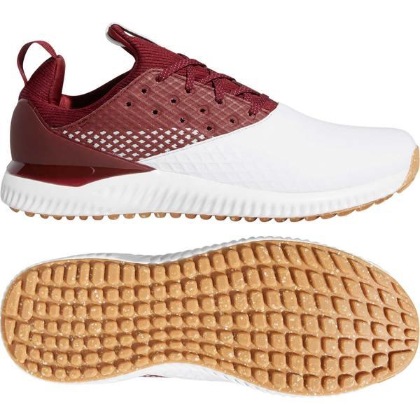 アディダス メンズ ゴルフ スポーツ adidas Men's adicross Bounce 2 Golf Shoes White/Red