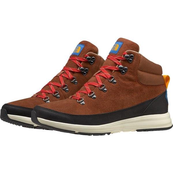 ノースフェイス メンズ ブーツ&レインブーツ シューズ The North Face Men's Back-To-Berkeley Redux Remtlz Lux Hiking Boots CaramelCafe