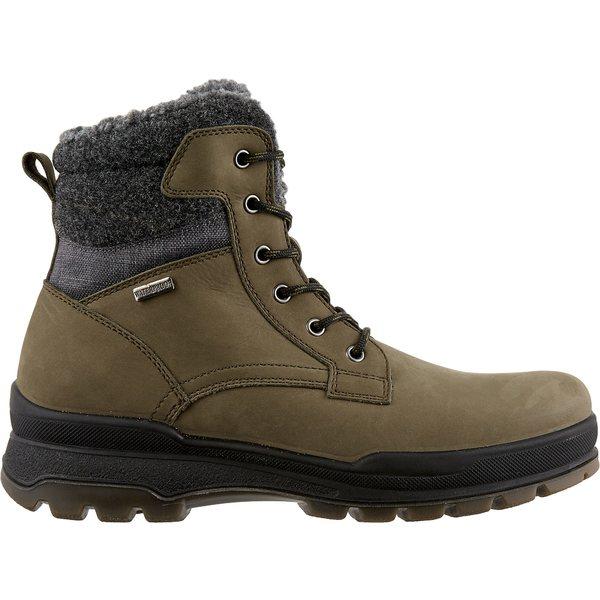 アルパインデザイン メンズ ブーツ&レインブーツ シューズ Alpine Design Men's Polvere Waterproof Winter Boots Olive