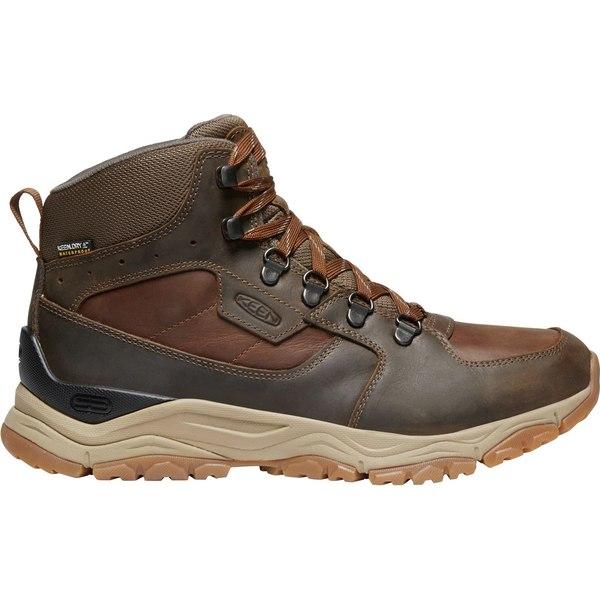 キーン メンズ ブーツ&レインブーツ シューズ KEEN Men's Innate Mid Waterproof Hiking Boots Musk