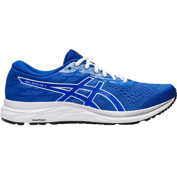 アシックス メンズ ランニング スポーツ ASICS Men's GEL-Excite 7 Running Shoes Blue/White