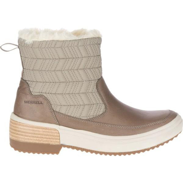 メレル レディース ブーツ&レインブーツ シューズ Merrell Women's Haven Bluff Polar Waterproof Boots Brindle
