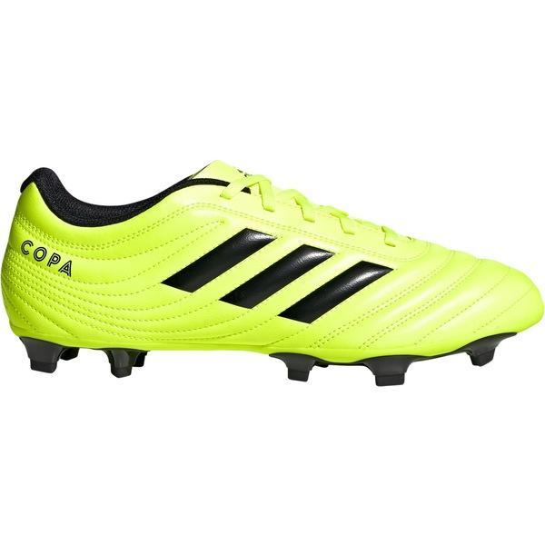 アディダス メンズ サッカー スポーツ adidas Men's Copa 19.4 FG Soccer Cleats Yellow/Black