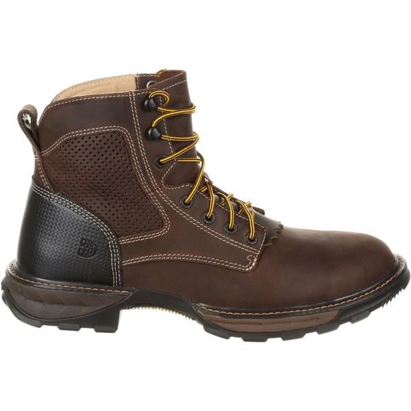 デゥランゴ メンズ ブーツ&レインブーツ シューズ Durango Men's Maverick XP Lacer Ventilated Steel Toe Work Boots Brown