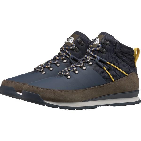 ノースフェイス メンズ ブーツ&レインブーツ シューズ The North Face Men's Back-to-Berkeley Mid Winter Boots UrbanNavy