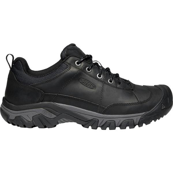 キーン メンズ スニーカー シューズ KEEN Men's Targhee III Oxford Shoes Black/Magnet