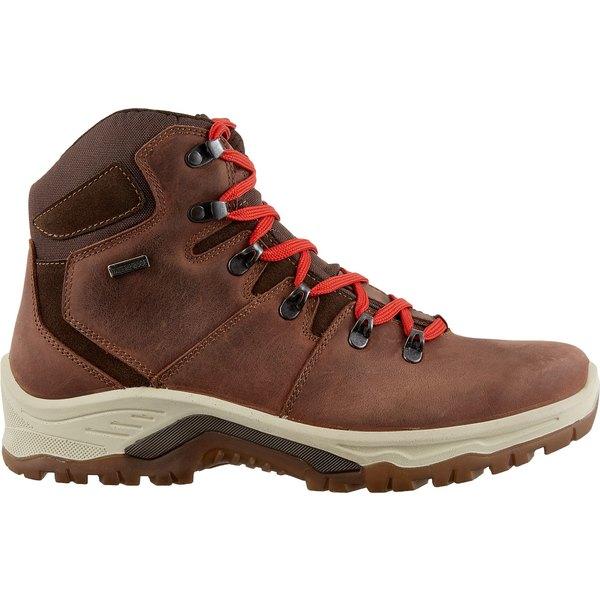 アルパインデザイン メンズ ブーツ&レインブーツ シューズ Alpine Design Men's Passare Waterproof Hiking Boots Brown