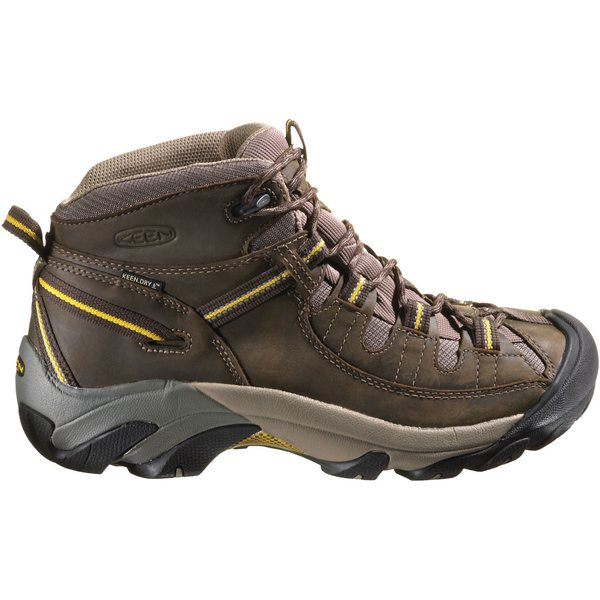 キーン メンズ ブーツ&レインブーツ シューズ KEEN Men's Targhee II Mid Waterproof Hiking Boots BlackOlive