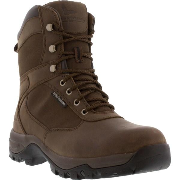 フィールドアンドストリーム メンズ ブーツ&レインブーツ シューズ Field & Stream Men's Woodsman 800g Waterproof Hunting Boots Brown