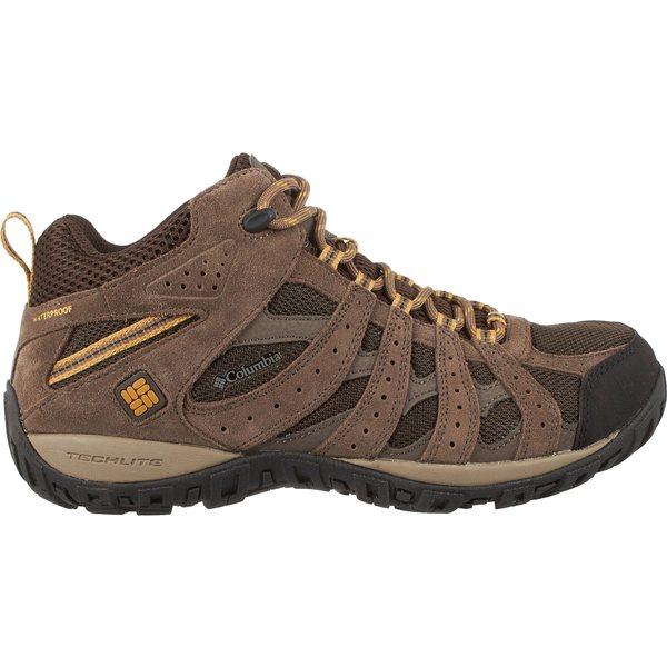 コロンビア メンズ ブーツ&レインブーツ シューズ Columbia Men's Redmond Mid Waterproof Hiking Boots Cordovan