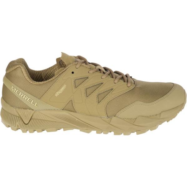 メレル メンズ ブーツ&レインブーツ シューズ Merrell Men's Agility Peak Tactical Shoes Coyote