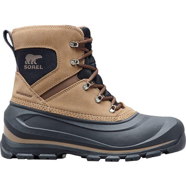 ソレル メンズ ブーツ&レインブーツ シューズ SOREL Men's Buxton Lace 200g Waterproof Winter Boots Delta/Black
