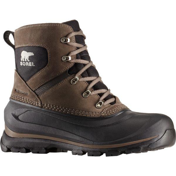 ソレル メンズ ブーツ&レインブーツ シューズ SOREL Men's Buxton Lace 200g Waterproof Winter Boots Major/Black