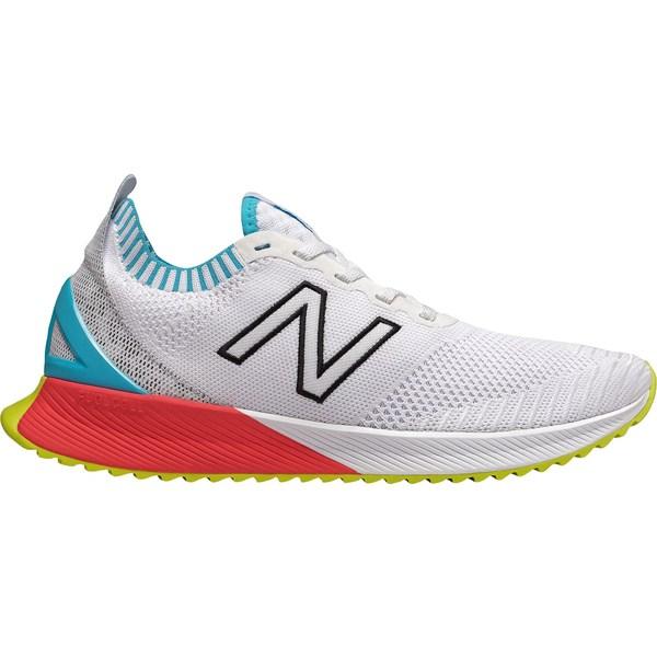 ニューバランス メンズ ランニング スポーツ New Balance Men's FuelCell Echo Running Shoes White/Blue/Green