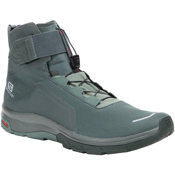 サロモン メンズ ブーツ&レインブーツ シューズ Salomon Men's T-Max WR Winter Boots BalsamGreen