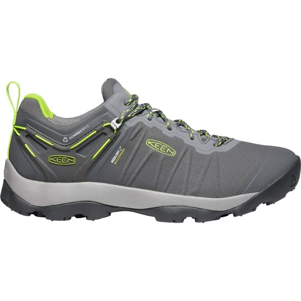 キーン メンズ ブーツ&レインブーツ シューズ KEEN Men's Venture Waterproof Hiking Shoes Magnet/Chartreuse