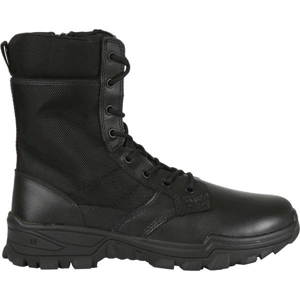 5.11タクティカル メンズ ブーツ&レインブーツ シューズ 5.11 Tactical Men's Speed 3.0 Side-Zip Tactical Boots Black